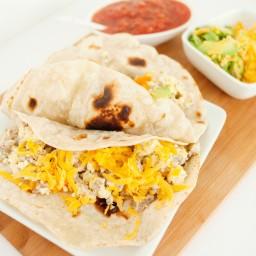 Breakfast Burritos for Dinner