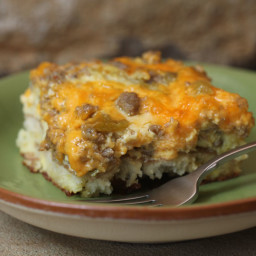 Breakfast Egg Casserole (Christmas Tradition)