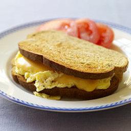 Breakfast Grilled Cheese/Quesadilla
