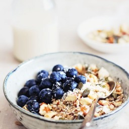 Breakfast: Nut Muesli