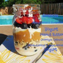 Breakfast Parfait Jar