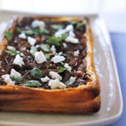 Briget's Onion and Feta Cheese Tart Recipe
