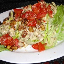 Brio Wedge Salad and Dressing