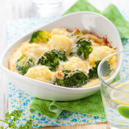 Broccoli and Cauliflower Cheese