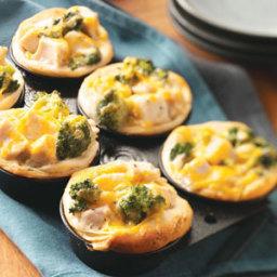 Broccoli-Chicken Cups Recipe