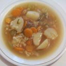 Brodu Tac-canga / Beef Broth
