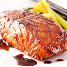 Broiled Salmon Teriyaki