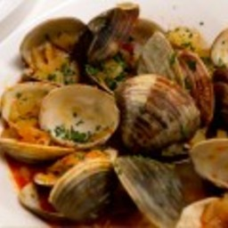 Brothy Clams and Chorizo