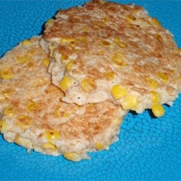 Brown Rice and Corn Cakes