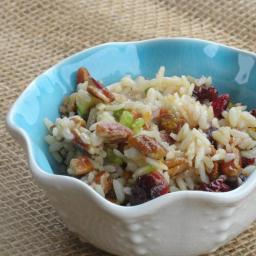 Brown Rice Citrus Salad