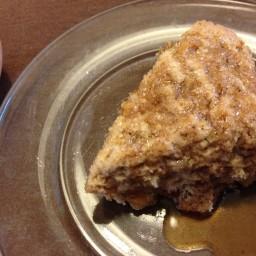 Brown Sugar Apple Scones