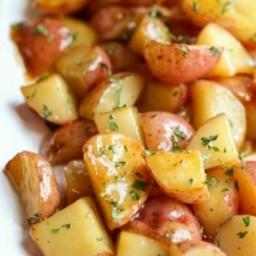 Brown Sugar Glazed Red Potatoes
