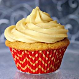 Brown Sugar Pound Cupcakes