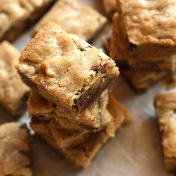 Browned Butter and Bourbon Blondies