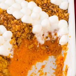Browned Butter Sweet Potato Casserole