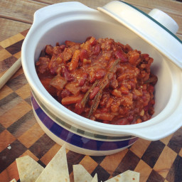 Browns Beef Chilli