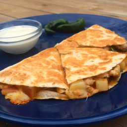 Browns Chicken Quesadillas