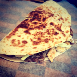 Browns Chicken Tobasco Quesadilla