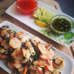 Browns Garlic & Herb Prawns