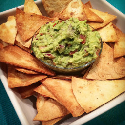 Browns Guacamole with Tortilla Chips