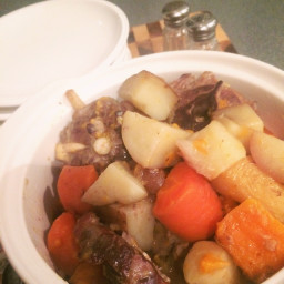 Browns Easy Lamb Chop Casserole