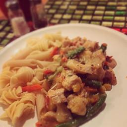 Browns Pepper Chicken & Vegetables
