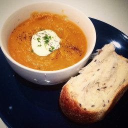 Browns Pumpkin Soup