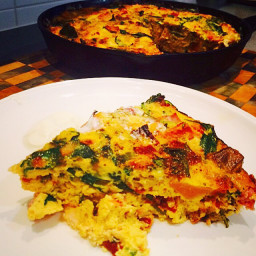 Browns Smoked Chicken & Vegetable Frittata