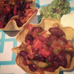 Browns Vegetarian Tortilla Bowls
