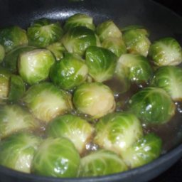 Brussel Sprouts Oriental