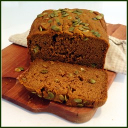 Buckwheat Pumpkin Bread (Gluten Free)
