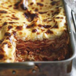 Buffalo mozzarella lasagne