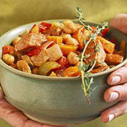 Bulgarian Red Pepper Stew