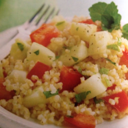 Bulgur, Cucumber, and Mint Salad