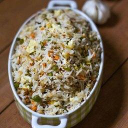 Burnt Garlic Fried Rice