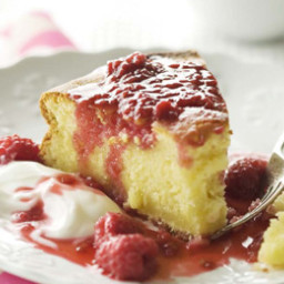 Buttermilk Cake with Berry Syrup