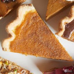 Buttermilk-Cardomom Pumpkin Pie