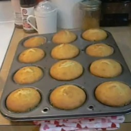 Buttermilk Corn Muffins