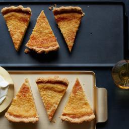 Buttermilk Eggnog Pie