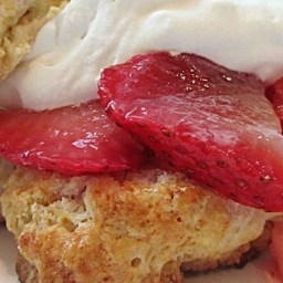 Buttermilk Strawberry Shortcake