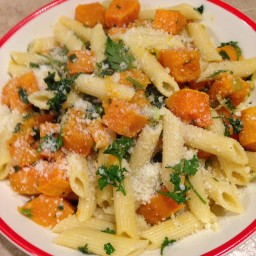Butternut Squash and Parsley Penne