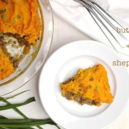 Butternut Squash + Sweet Potato Shepherd's Pie