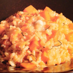 Butternut Sqush Risotto with Sage
