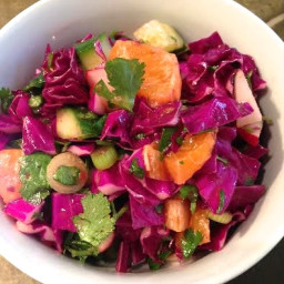Cabbage Salad with Cumin and Lime Dressing