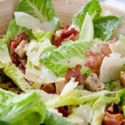 Caesar Salad Poulette Version