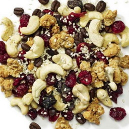 Caffeine rocket trail mix