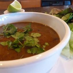 Cajun Black Bean Soup