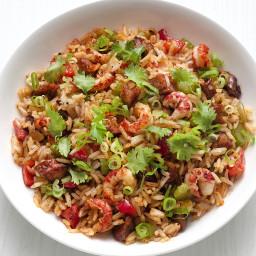 Cajun Crawfish Fried Rice
