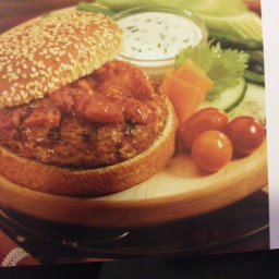 Cajun Turkey Burgers
