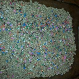 Cake Batter Rice Crispy Treats